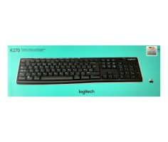 Tastatur K270 wireless schwarz